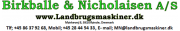 Birkballe & Nicholaisen Aps